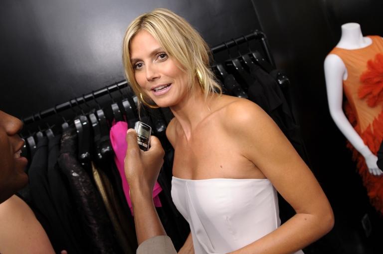<p>Heidi Klum attends Christian Siriano Nolita Boutique Opening on September 5, 2012 in New York City.</p>
