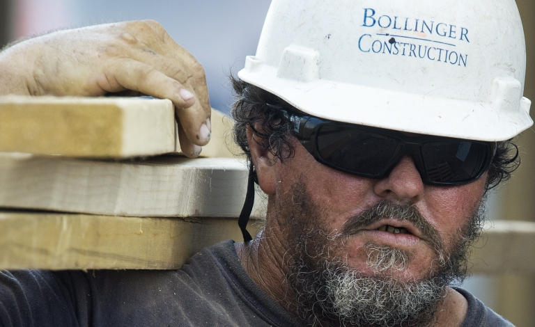 <p>New figures from the Commerce Department showed that housing growth jumped 15 percent last month.</p>