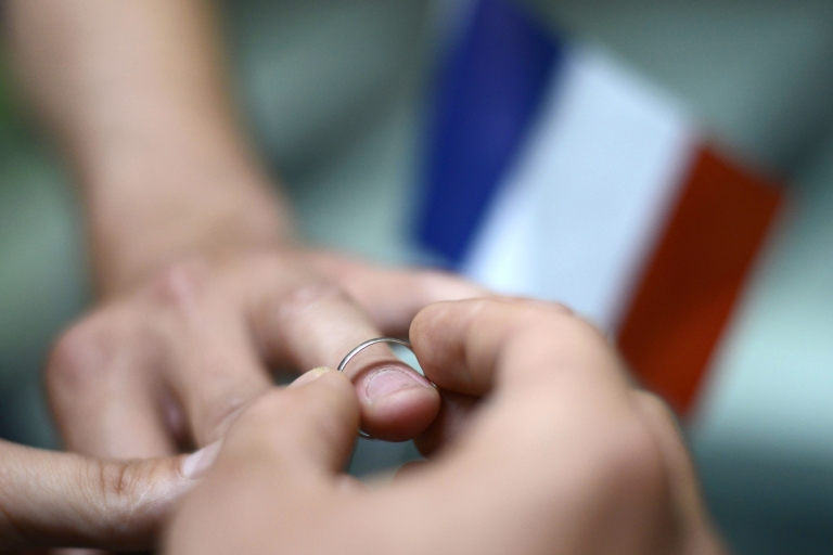 <p>The French cabinet has approved a law that would allow same-sex couples to get married and adopt children.</p>