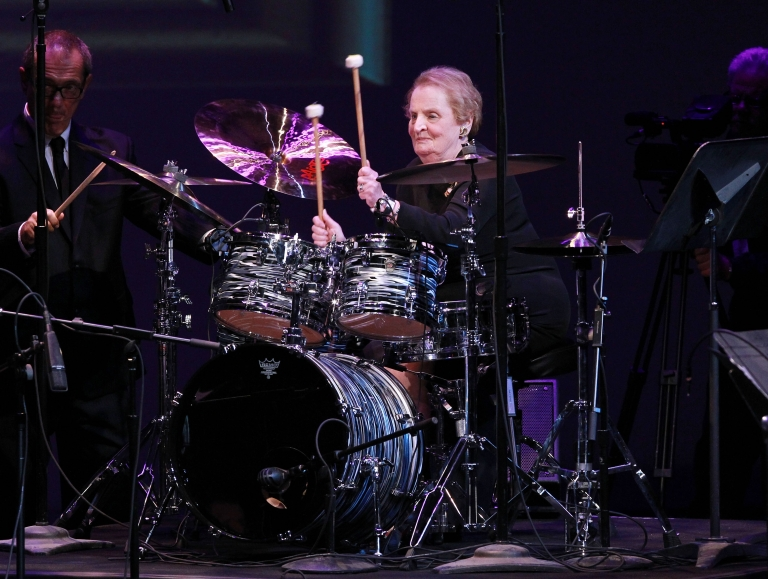 <p>Albright performed at The Kennedy Center on September 23, 2012 in Washington, DC.</p>