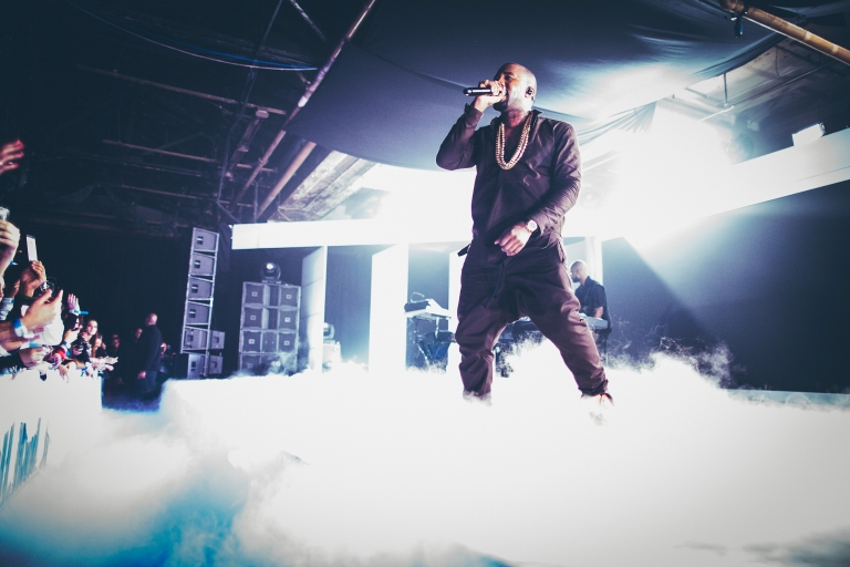 <p>Kanye West treated fans at a recent concert with his views on the Grammys and the media.</p>