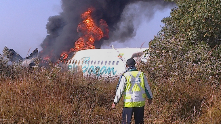 <p>A new report shows that 2012 was the safest year to fly ever with only 22 fatal crashes worldwide.</p>