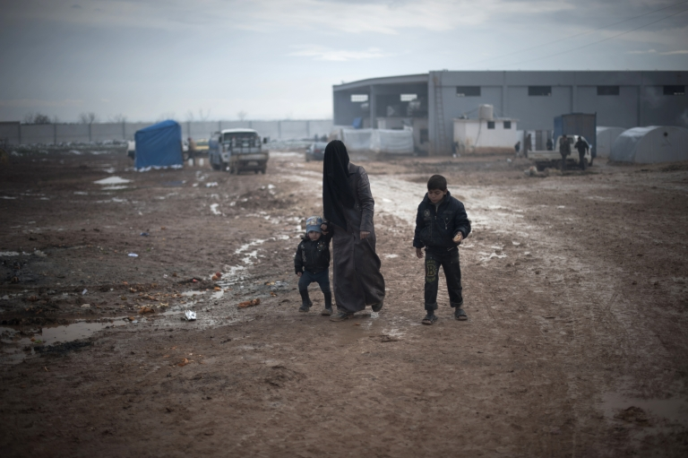 <p>Syrian refugees in Turkish border camps voted for their leaders on Thursday in a small exercise in democracy.</p>