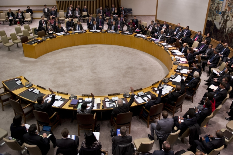<p>Saudi Arabia has refused to take a rotating seat on the UN Security Council due to Syrian concerns.</p>