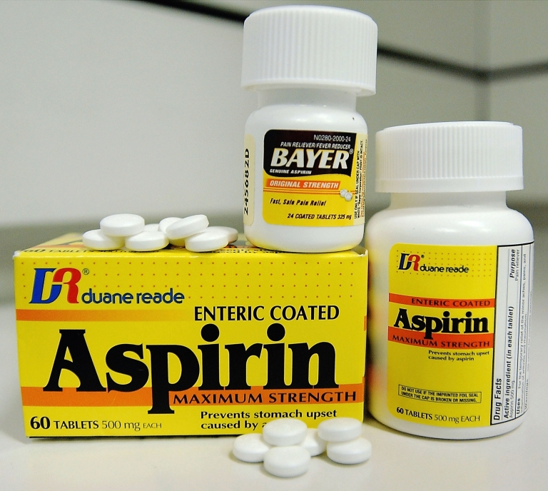 <p>A new study has shown that taking aspirin in the long-term could lead to age-related macular degeneration.</p>