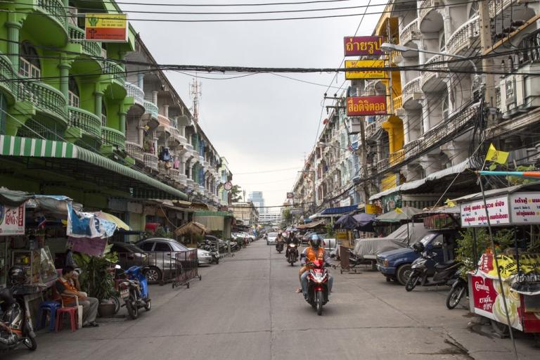 <p>Scenes in the slum of Klong Toei in Bangkok, Thailand on December 7, 2012.</p>