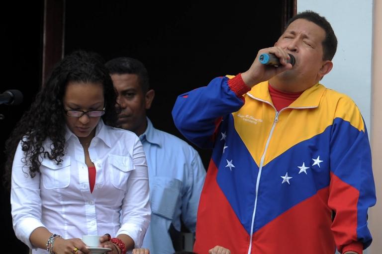<p>#3 — Venezuelan President Hugo Chavez — Facebook: 136,956; Twitter: 1,634,460.</p>