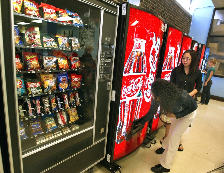 <p>Coke, Pepsi and Dr Pepper said that their soda machines will have calorie counts displayed by 2013.</p>