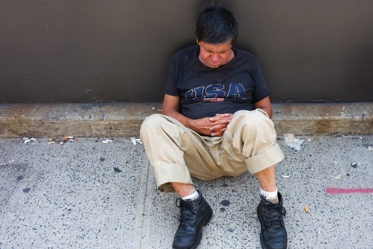 <p>16 percent of Americans are living below the poverty line.</p>