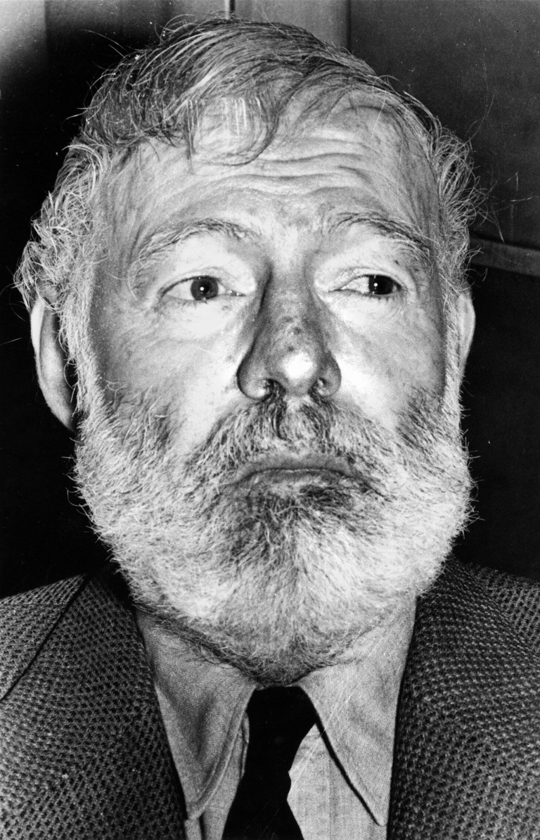 <p>This undated picture shows American writer Ernest Hemingway, author of 'The Old man and the sea' and 'For whom the bell tolls', born in 1898 and who committed suicide in 1961. His novel, 'A Farewell to Arms',  will be rereleased to include 47 alternate endings.</p>