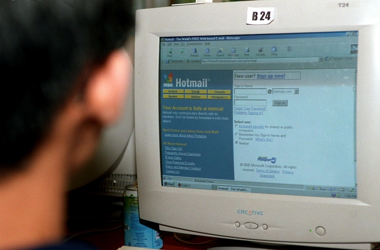 <p>Microsoft said Tuesday that Hotmail would slowly be replaced by Outlook.</p>