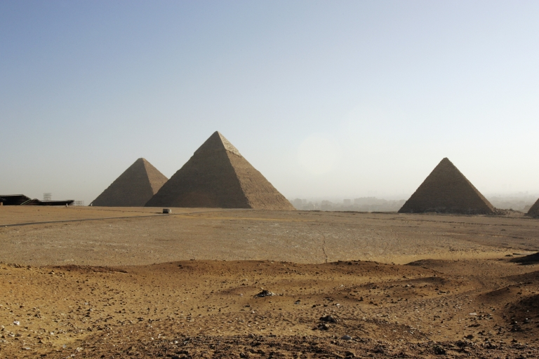 <p>The Pyramids of Giza still hold mysteries that researchers are trying to solve.</p>