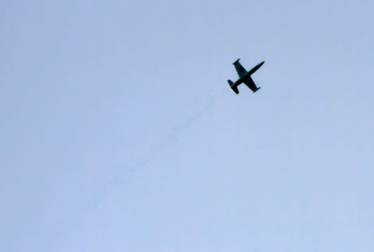 <p>A Russian-made MiG 23 fighter jet climbs after dropping a second bomb in Syria. Japan claimed on February 7th that Russian fighter jets had breached their airspace near Hokkaido.</p>