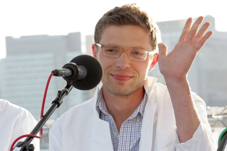 <p>NEW YORK, NY - May 29:  Science writer and contributer to Radio Lab, Jonah Lehrer attends the