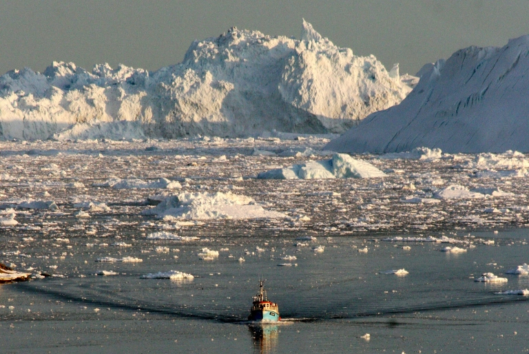 <p>A new study says that Greenland's glaciers are shrinking fast,  yet it is still not the worst case scenario.</p>