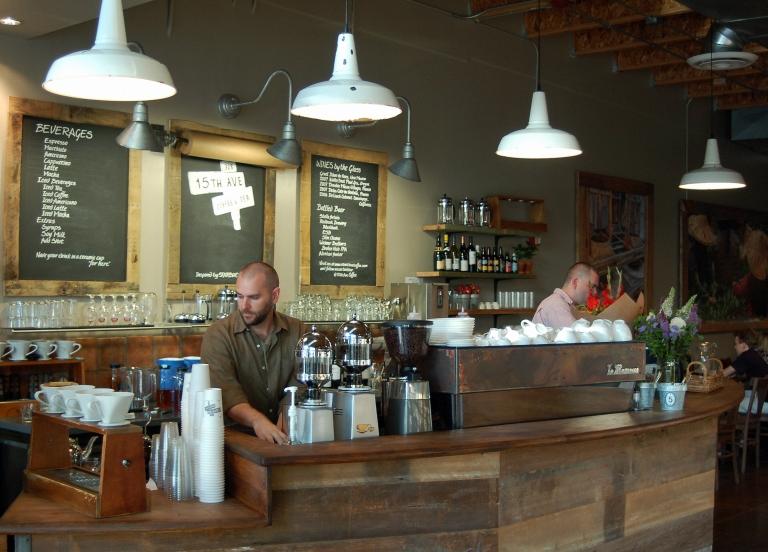 <p>The 15th Avenue Coffee and Tea in Seattle, Washington.</p>
