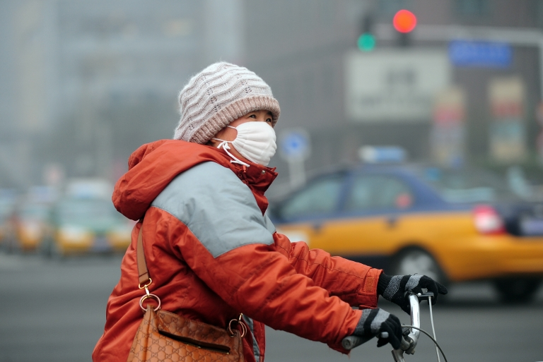 <p>A study of Beijing before and after the Olympics links pollution to heart health.</p>