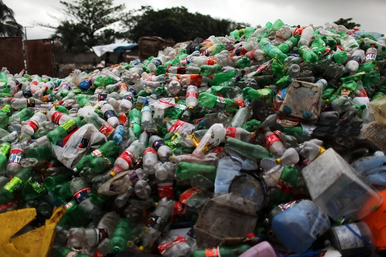 <p>Rio closes infamous garbage mountain ahead of UN summit on environmental sustainability and the FIFA World Cup 2014.</p>
