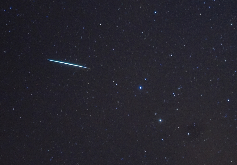 <p>An Orionid meteor shower will light up the nightsky next weekend says NASA.</p>
