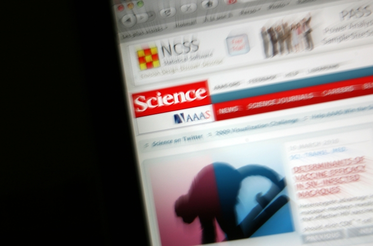 <p>A new study says that most retractions in scientific journals are due to fraud and plagiarism.</p>