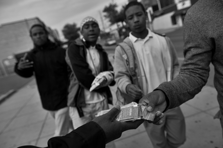 <p>In its early days, a staff of five CHAMPS started out by distributing condoms in the neighborhood. Today, with 25 outreach workers and eight mobile testing units providing tests and referrals to clinics, it has become one of the most respected community-based organizations in the city.</p>