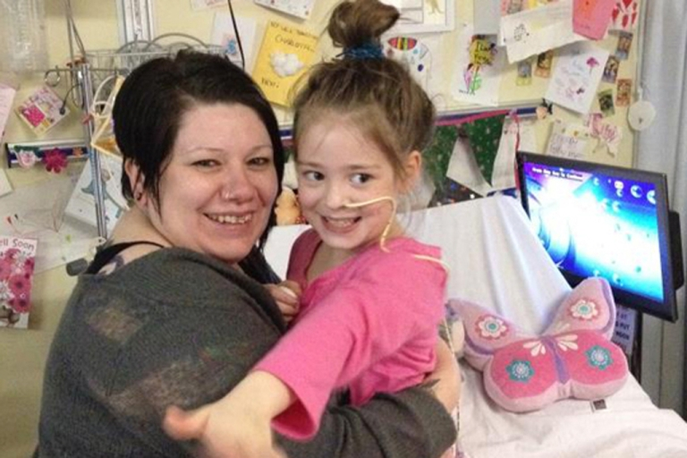 <p>Charlotte Neve, 7, woke up from a coma when Adele's