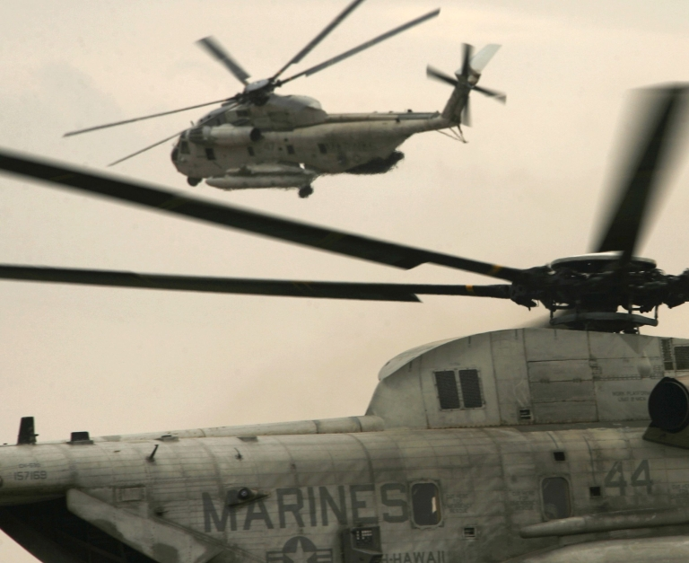 <p>Five American NATO troops were killed Monday when their helicopter went down in southern Afghanistan.</p>