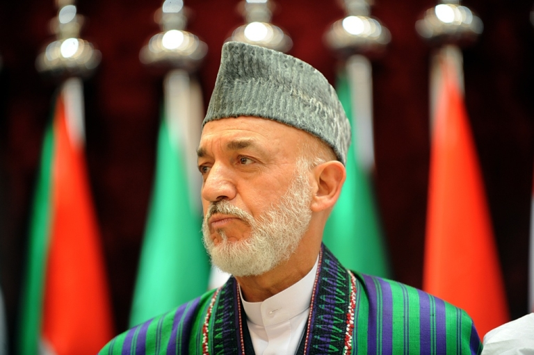 <p>Afghan President Hamid Karzai attends a summit in Mecca on Aug. 14, 2012.</p>