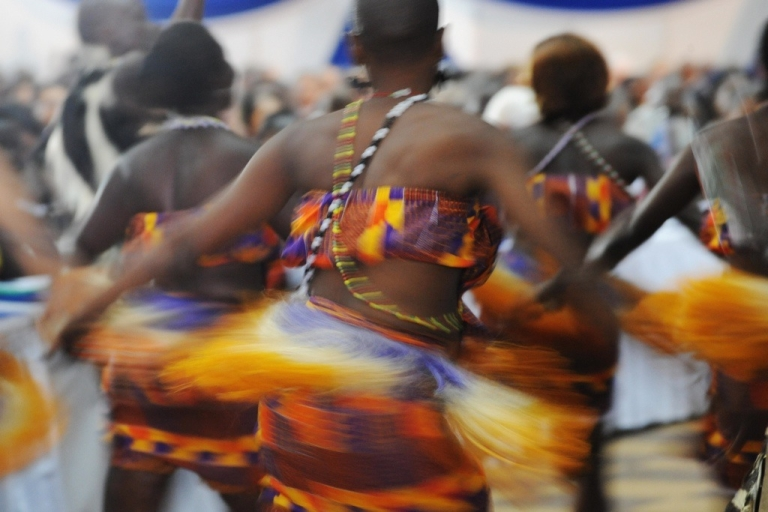 <p>Africa is attracting investment. Here Kenyan dancers perform at the 8th Forum of the African Growth and Opportunity Act (AGOA) in Nairobi. The AGOA is a forum of some 40 African states that enjoy trade preferences in the giant U.S. market on the condition they uphold free elections and markets.</p>