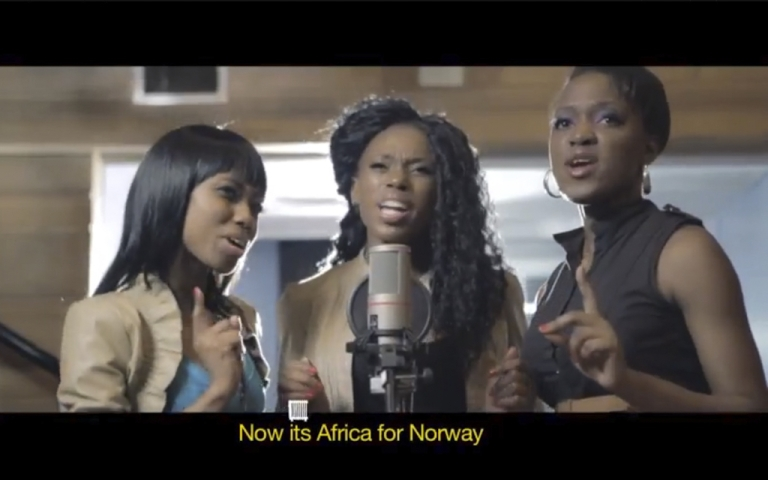 <p>Africans, unite to save Norwegians from dying of frostbite!</p>