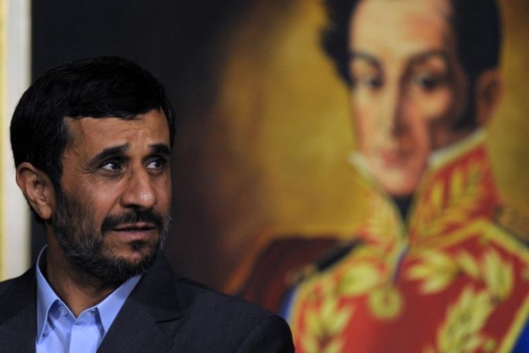 <p>Iranian President Mahmoud Ahmadinejad.</p>