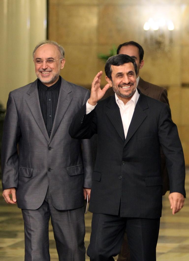 <p>Iranian President Mahmoud Ahmadinejad began his Latin American tour in Venezuela today, where he will meet with President Hugo Chavez.</p>