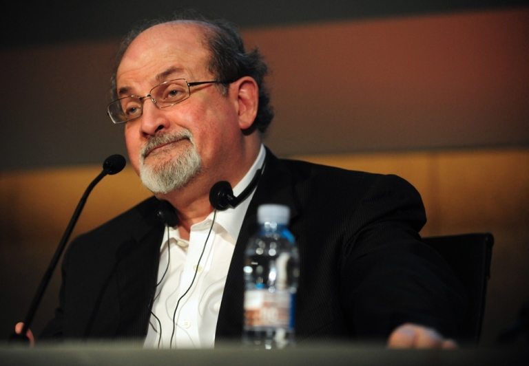 <p>Salman Rushdie is due to address the India Today Conclave in New Delhi on Friday afternoon.</p>