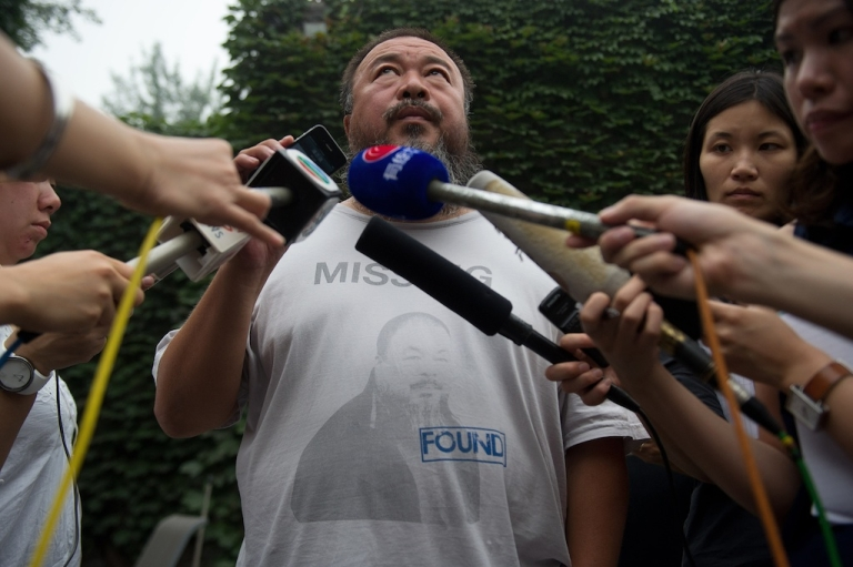 <p>Chinese dissident artist Ai Weiwei is a constant thorn in the side of Beijing.</p>
