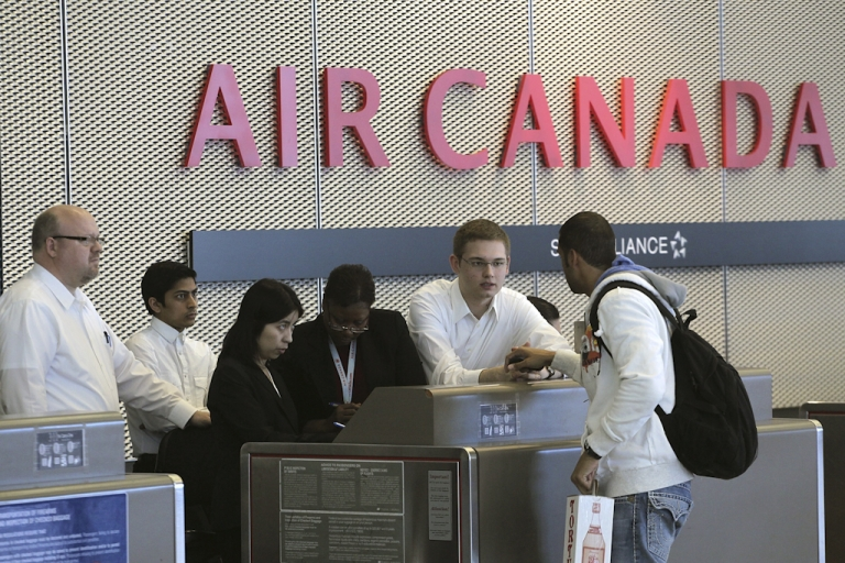 <p>Air Canada customer service agents have gone on strike after 11th-hour talks failed to reach a new labor agreement. Air Canada has vowed to continue operating a full schedule, but travel agents have warned to expect long delays at airports.</p>