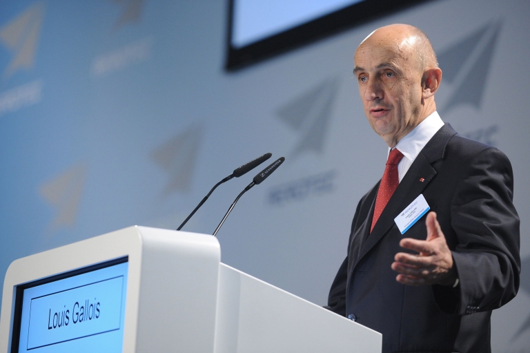 """<p>EADS head Louis Gallois told reporters: """"We ask the European Union to take into account the global position of almost every country outside of Europe against this [carbon tax] scheme,"""" adding that China's opposition could affect the sales of at least two dozen long-haul A330 planes in 2012 and 2013.</p>"""