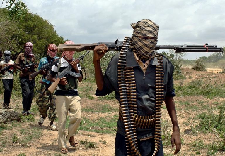 <p>Al Shabaab still controls much of southern and central Somalia, but is under increasing pressure from Kenyan forces in the south and Ethiopian forces in the west.</p>