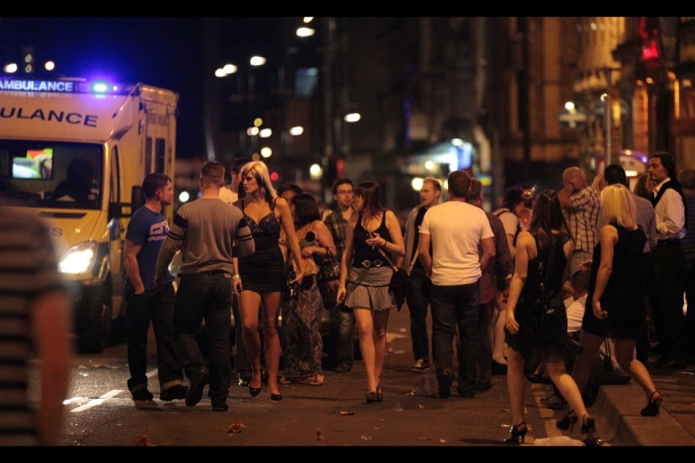 <p>There's plenty of ambulances out most nights in British towns as the heavy-drinking culture in this country leads to health emergencies and violence.</p>