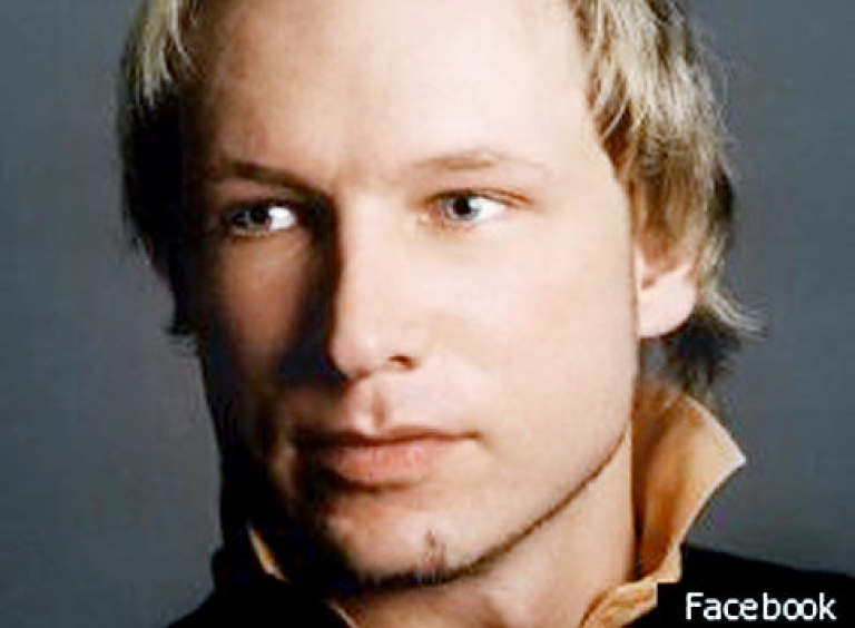 <p>Anders Behring Breivik's Facebook photo. The Christian fundamentalist has issued a list of demands to police including the resignation of the government. (Photo by Facebook via Getty Images)</p>