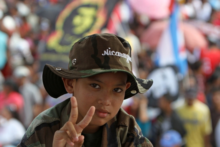 <p>Young people who grew up without the Somozas have been conditioned to oppose them.</p>