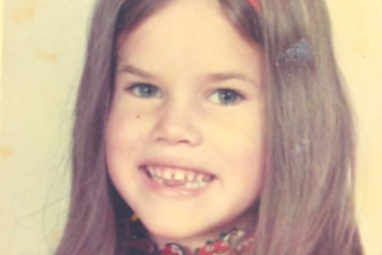 <p>A photo of USAID Deputy Assistant Administrator for Global Health Amie Batson at age 5.</p>