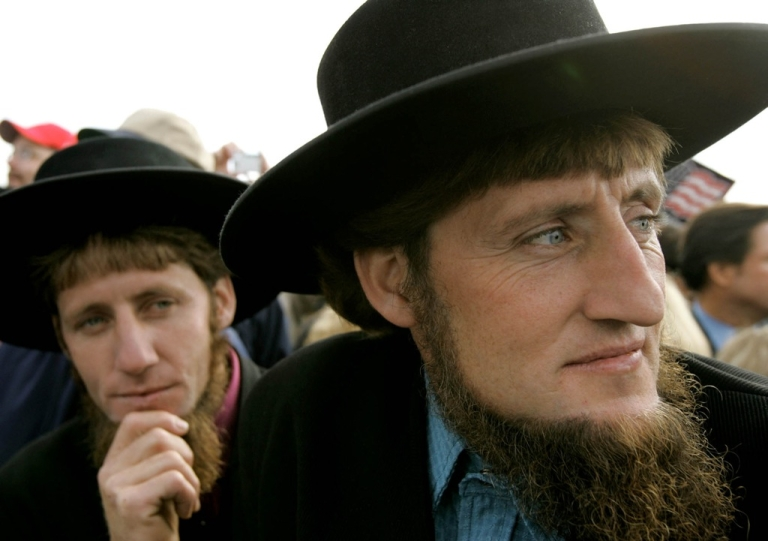<p>Amish teachings include strict rules on their followers' hair and beards.</p>