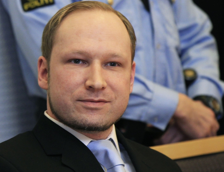 "<p>Anders Behring Breivik has confessed to the July 22 attacks but denies criminal guilt, accusing his victims of being ""traitors"" for embracing immigration laws he says will allow the Islamic colonization of Norway. A man set himself on fire outside the courthouse where Breivik is on trial on May 15, 2012.</p>"