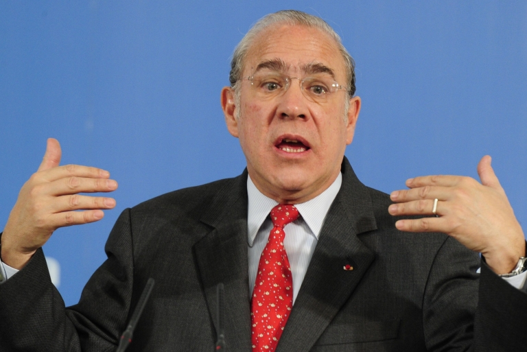 <p>OECD Secretary General Angel Gurría said the EU's bailout capacity was not big enough to impress fragile finance markets, pointing out that the 17-member euro zone's banks remain weak, debt levels are continuing to rise, and fiscal targets are far from guaranteed.</p>