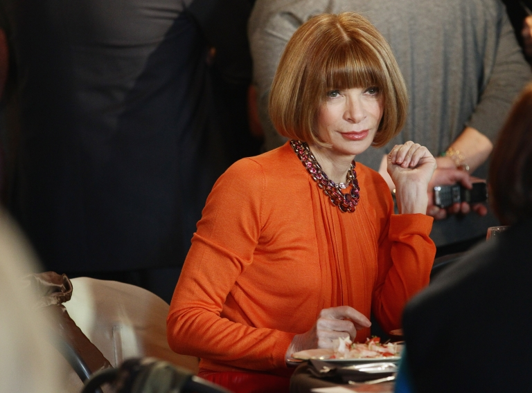 <p>Anna Wintour, Editor of Vogue, attends the