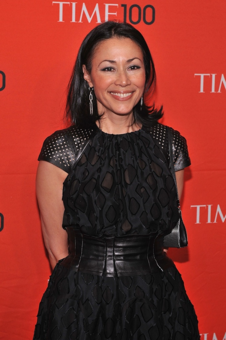<p>Ann Curry, co-host of the