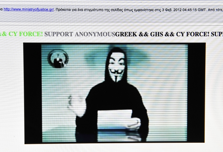 <p>Anonymous is a loosely organized international network of online activists suspected of the coordinated computer hacking of institutions, multinationals and government organizations around the globe.</p>
