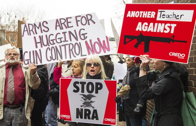 <p>Support for tougher gun control laws is growing, according to a CNN poll.</p>