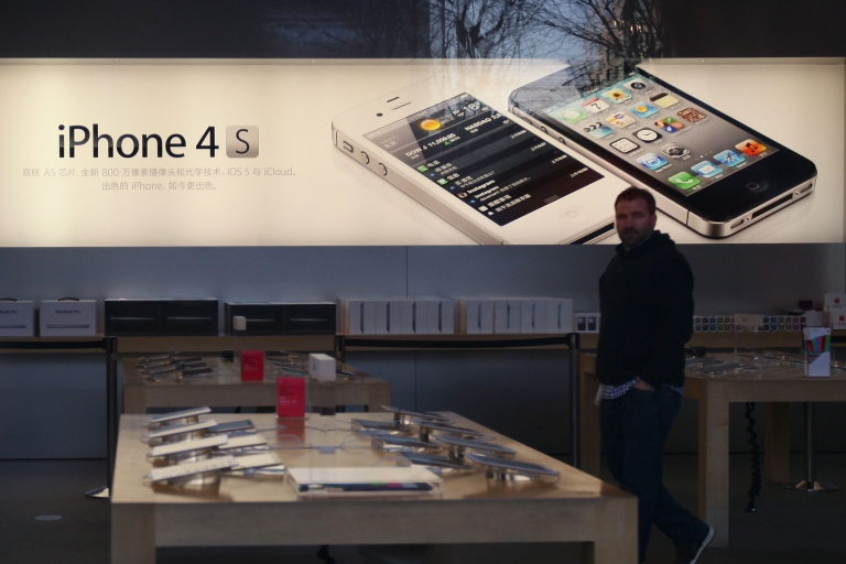 <p>Apple sold 37 million iPhones over the holiday quarter, bringing the total number of devices sold since they went on sale in 2007 to 183 million.</p>