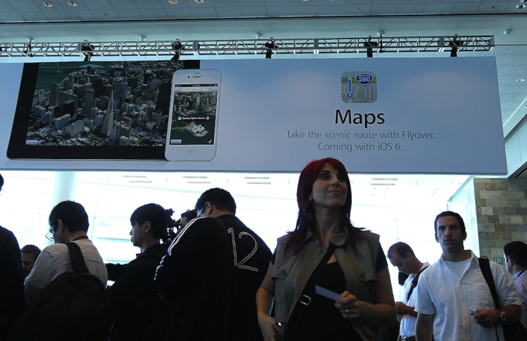 <p>Apple's Maps have run into some glitches since the application's launch.</p>
